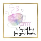 Just Coffee 5 by Kimberly Allen art print