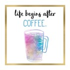 Just Coffee 6 by Kimberly Allen art print