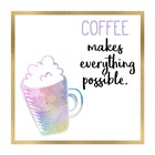 Just Coffee 8 by Kimberly Allen art print