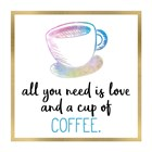 Just Coffee 9 by Kimberly Allen art print