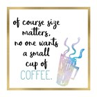 Just Coffee 10 by Kimberly Allen art print