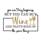 Just Wine 6 by Kimberly Allen art print